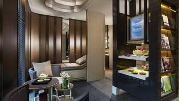 The spa at Mandarin Oriental Singapore