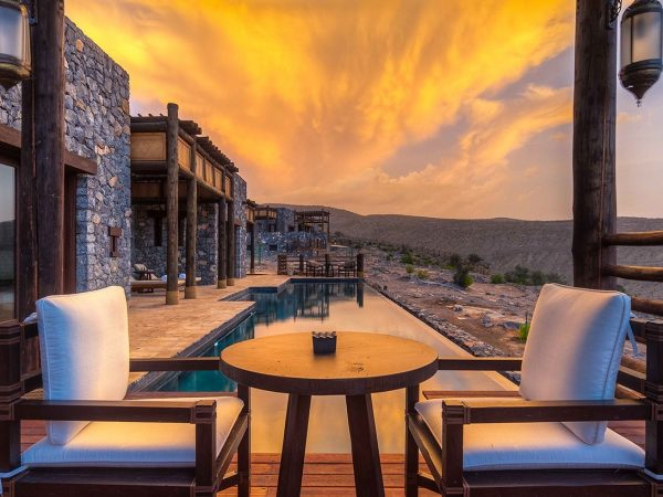 Alila Jabal Akhdar Resort Oman