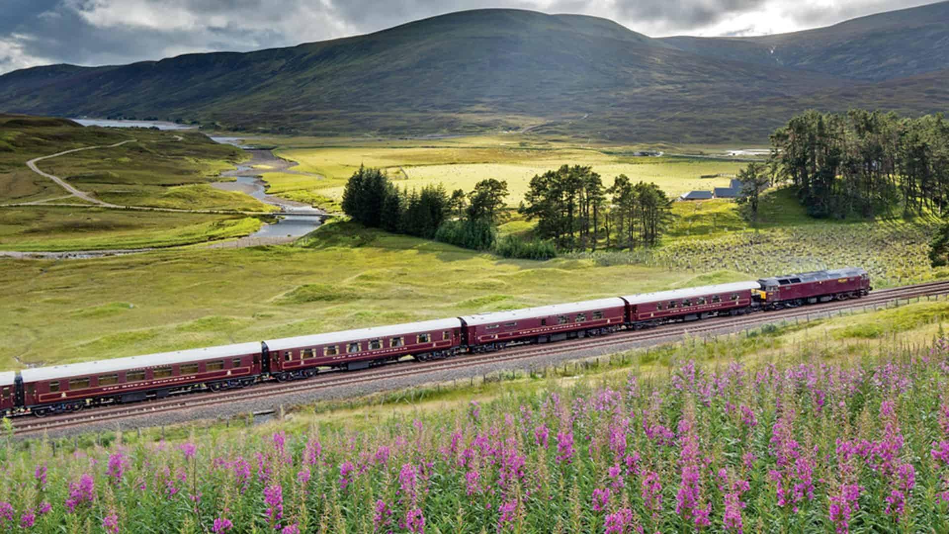 Belmond Royal Scotsman luxury rail journey