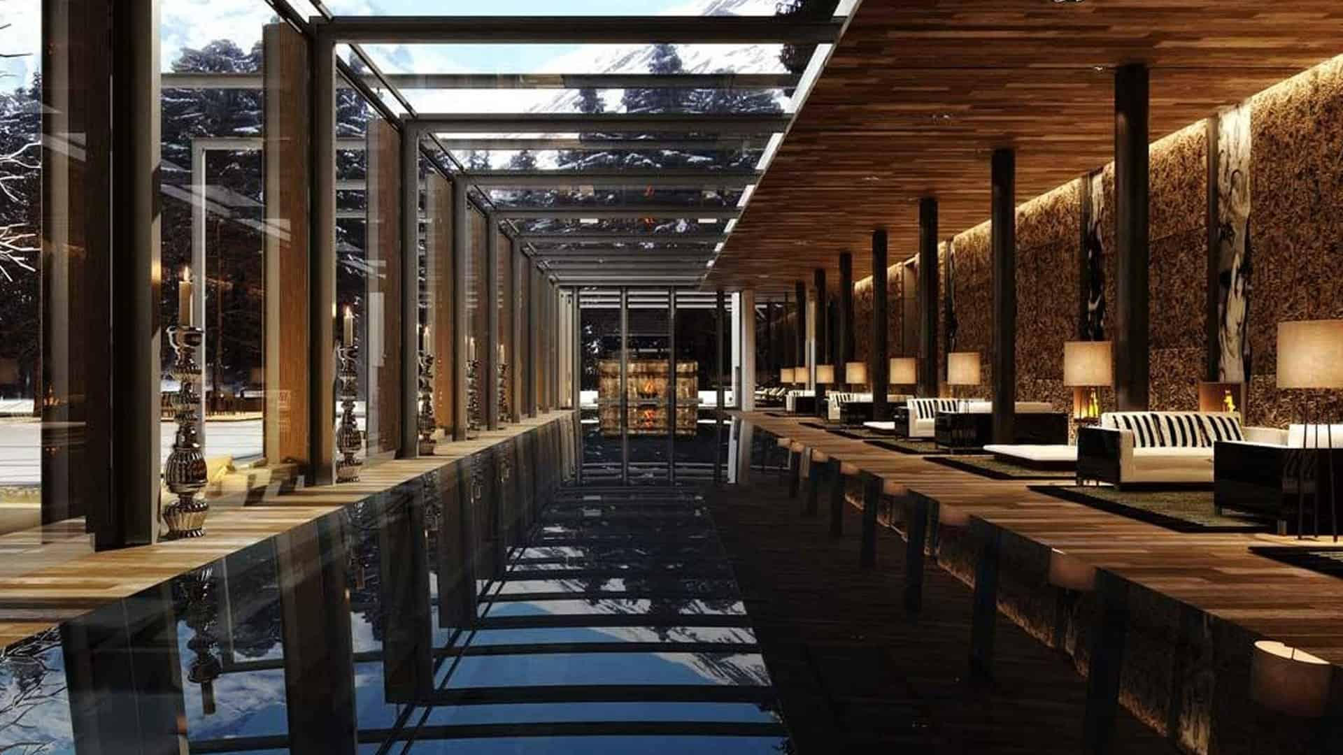Chedi Andermatt, Switzerland
