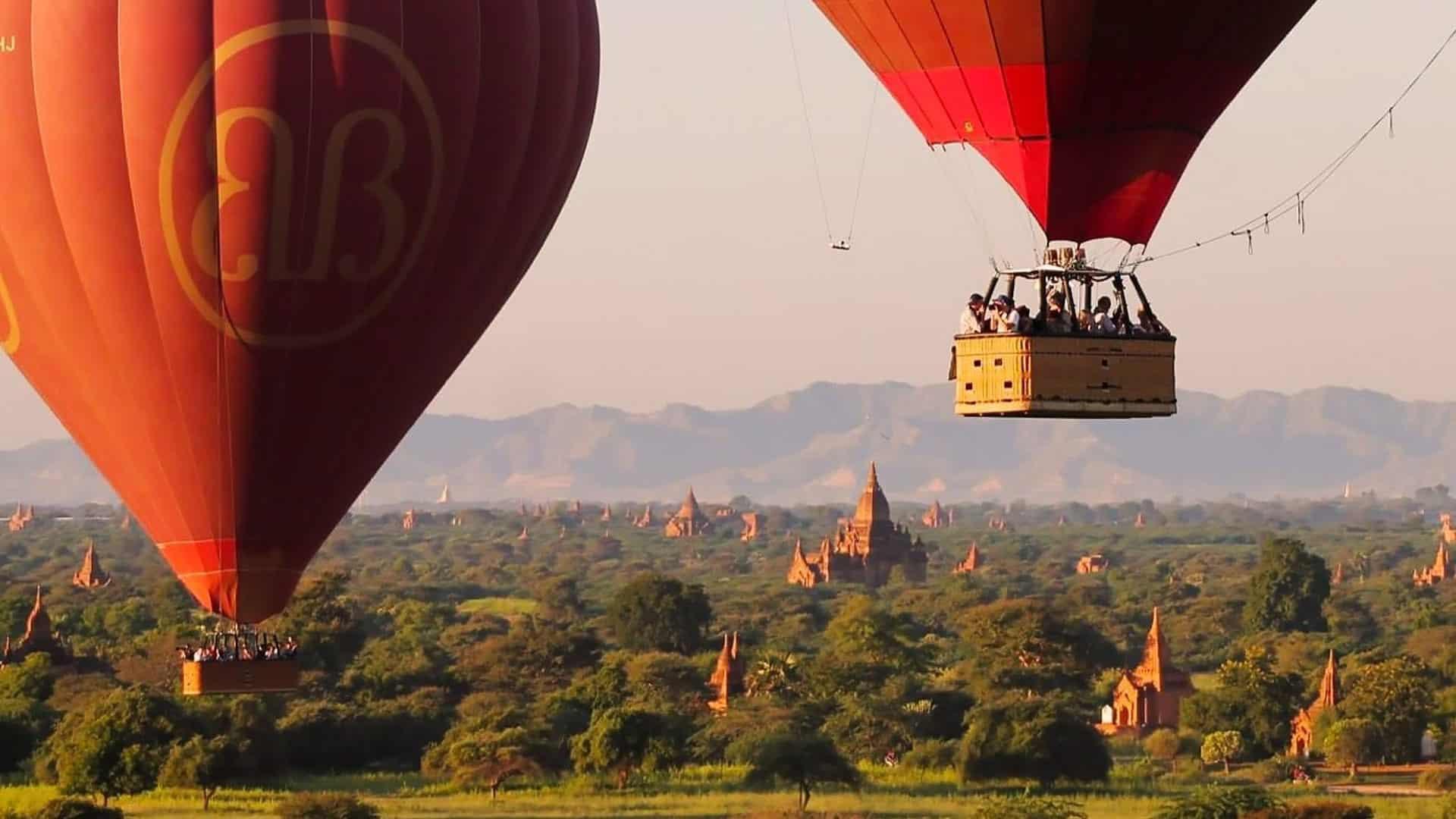 Cultural Tours - Ballooning over Bagan, Myanmar