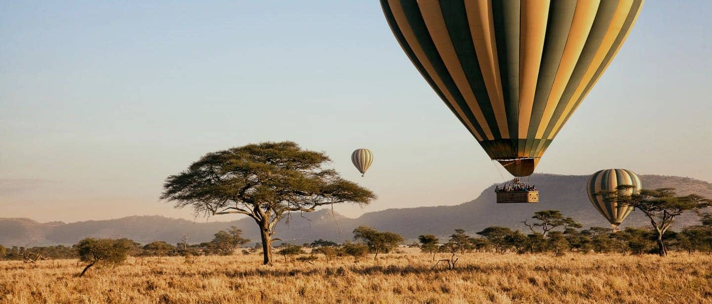 Hot Air Ballooning, Serengeti, Tanzania
