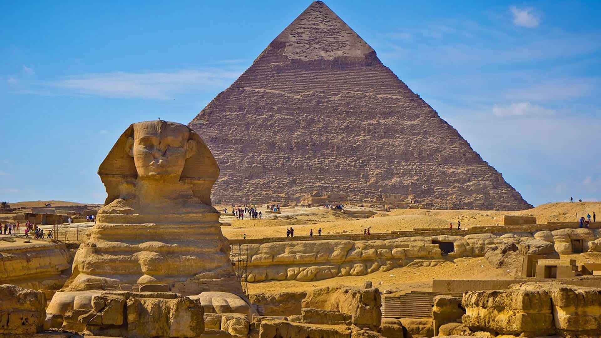Pyramids & Sphinx, Egypt