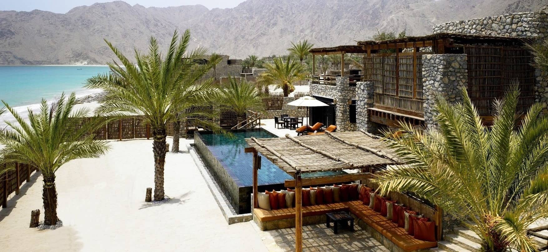 Villa at Six Senses Zighy Bay, Oman