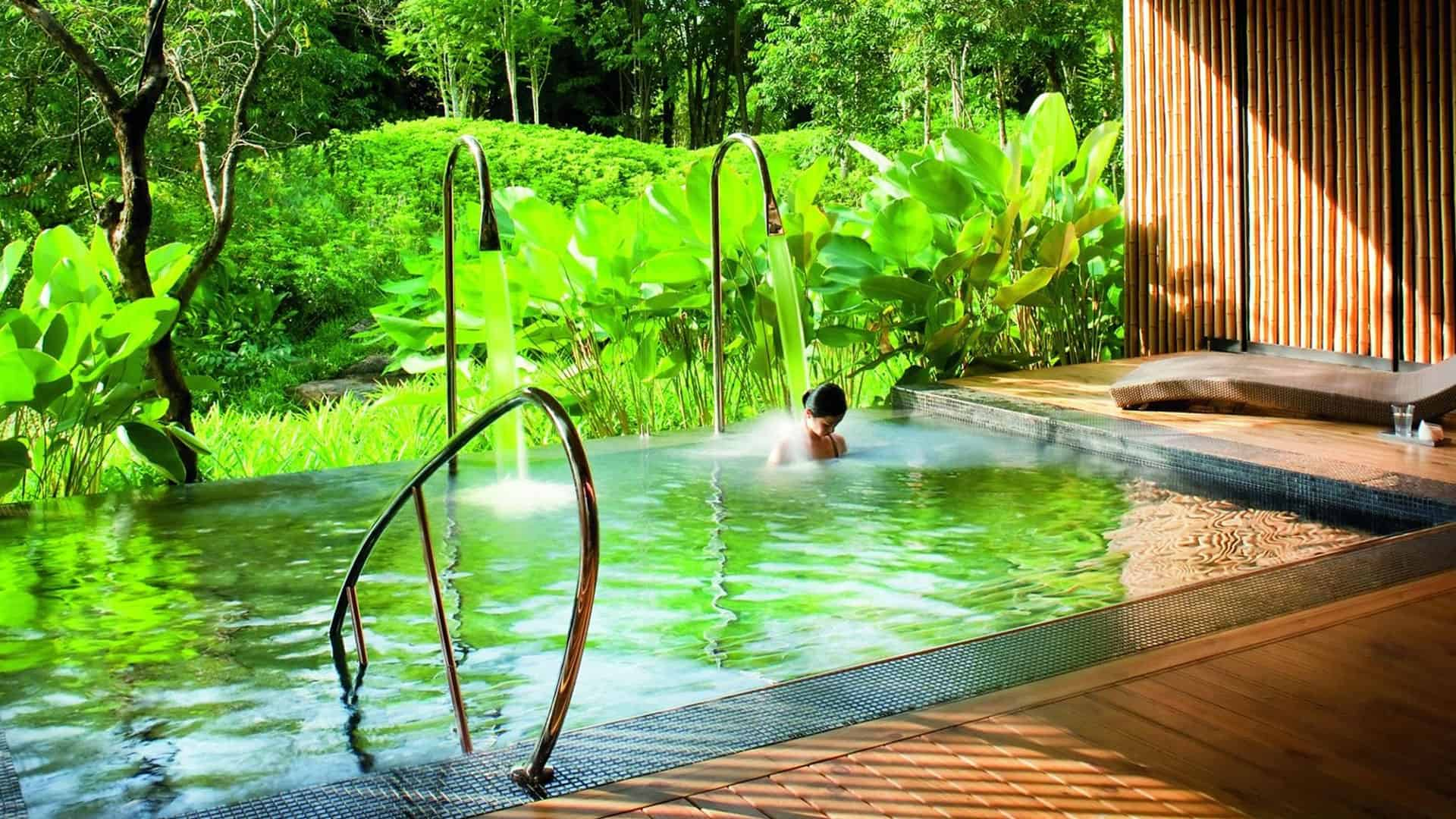 Vitality pool at Espa Spa at Phulay Bay, a Ritz Carlton Reserve, Krabi, Thailand