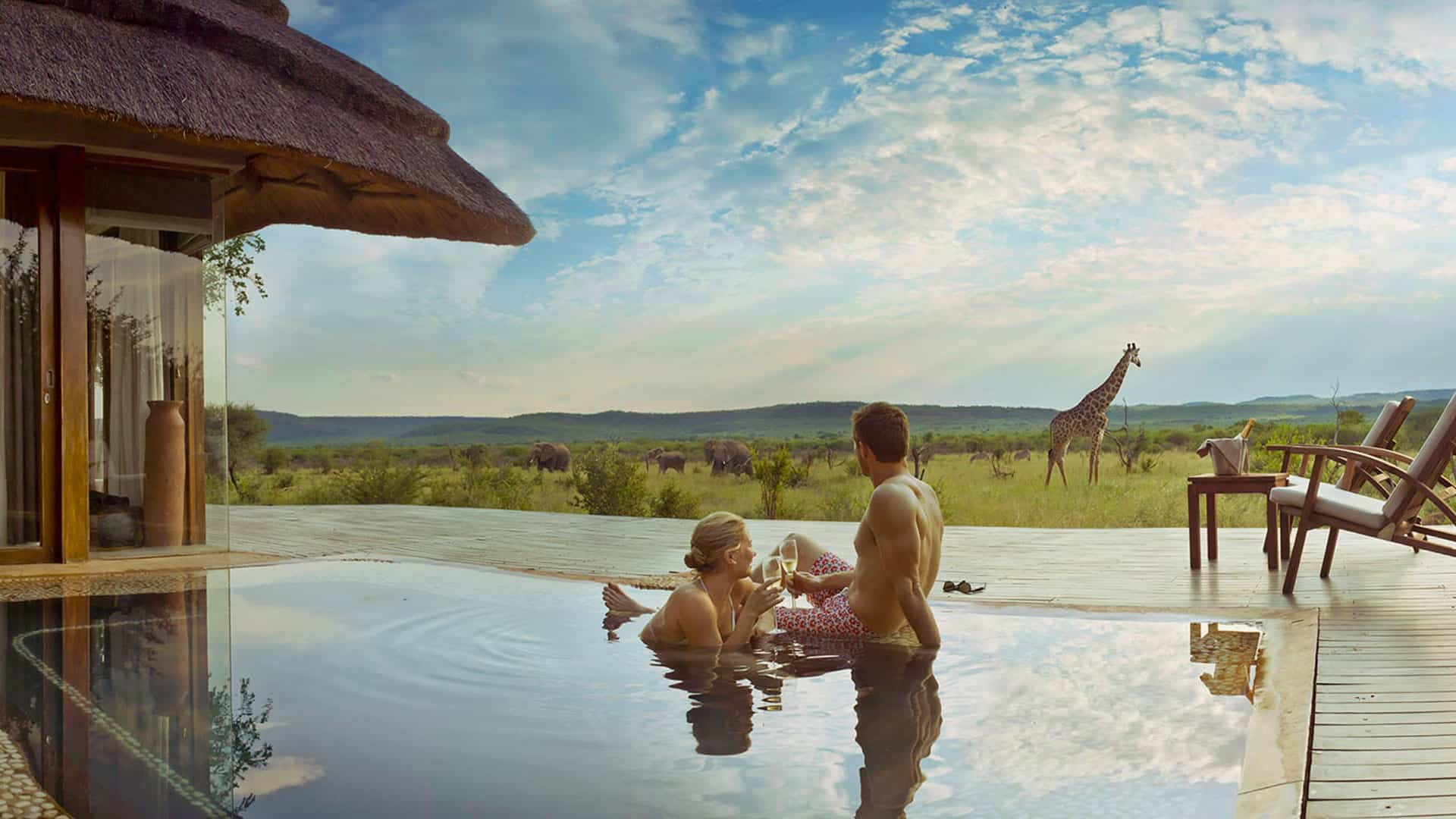 Madikwe Hills Private Game Lodge Pool