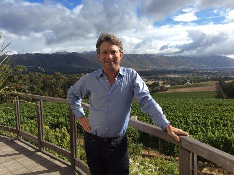 Rollo Gabb, owner of Journey's End Vineyards