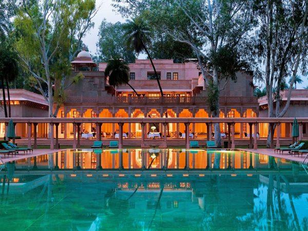 Amanbagh swimming pool