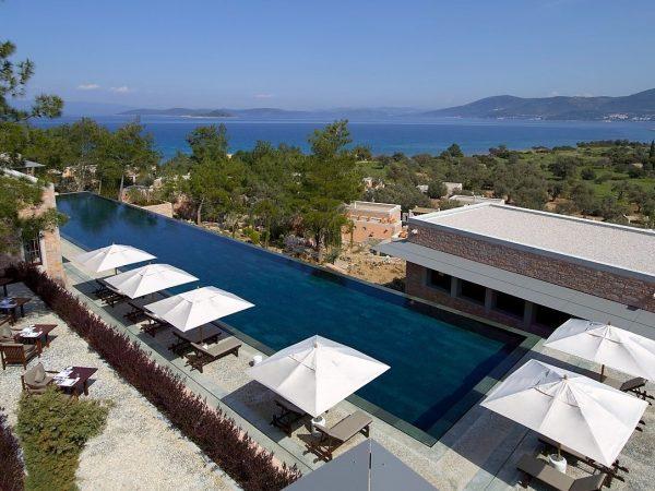 Amanruya Bodrum Turkey pool