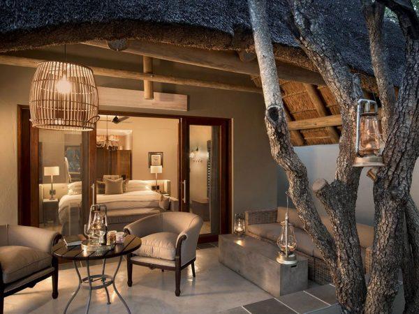 AndBeyond Ngala Safari Lodge family cottage area
