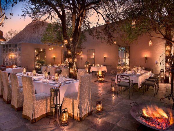 AndBeyond Ngala Safari Lodge restaurants