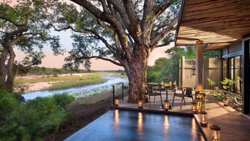 AndBeyond Tengile River Lodge Family Suite Pool