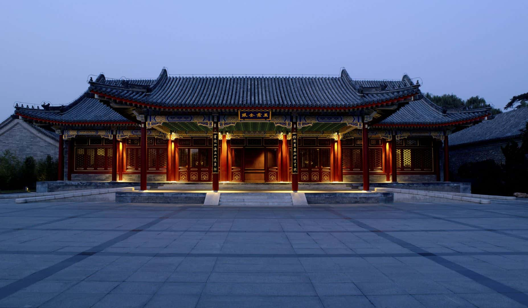 Just steps from the East gate of the Summer Palace grounds. The Aman at Summer Palace is housed in a series of pavilions with peaceful internal courtyards embracing traditional Chinese architecture.