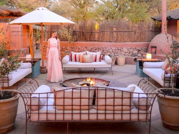 Awasi Atacama Chile Lounge Sunset