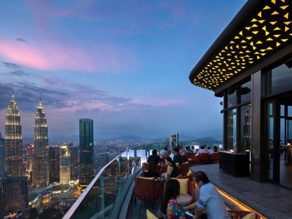 Banyan Tree Kuala Lumpur Sky bar