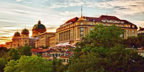 Bellevue Palace, Bern