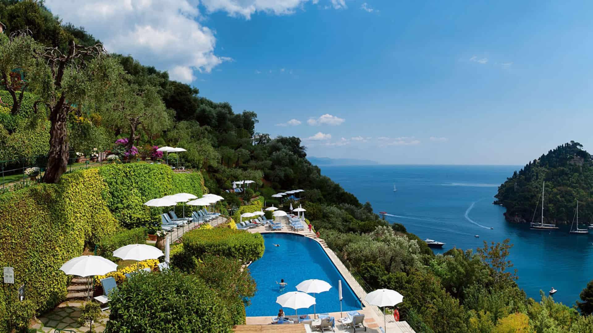 Belmond Hotel Splendido Gardens pool