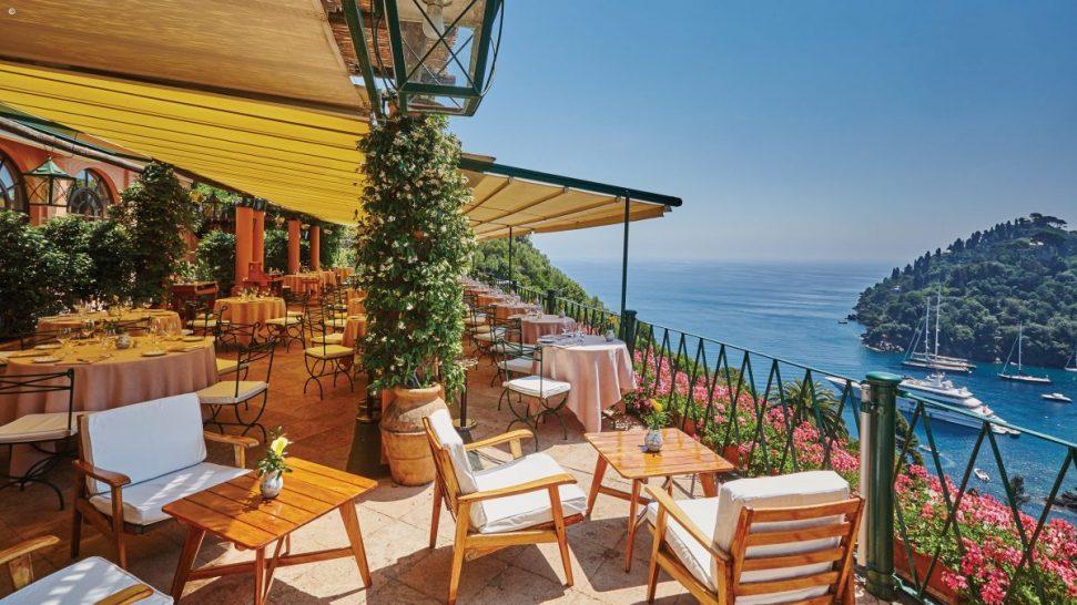 Belmond Hotel Splendido Gardens terrace