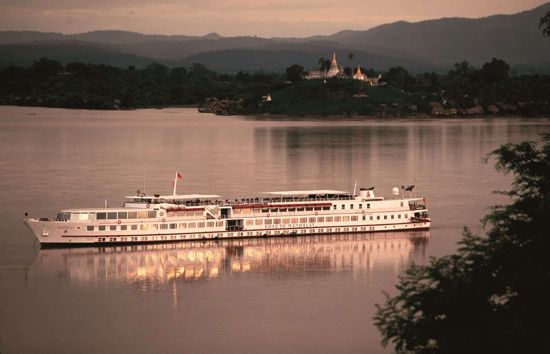 Belmond Road to Mandalay Cruise