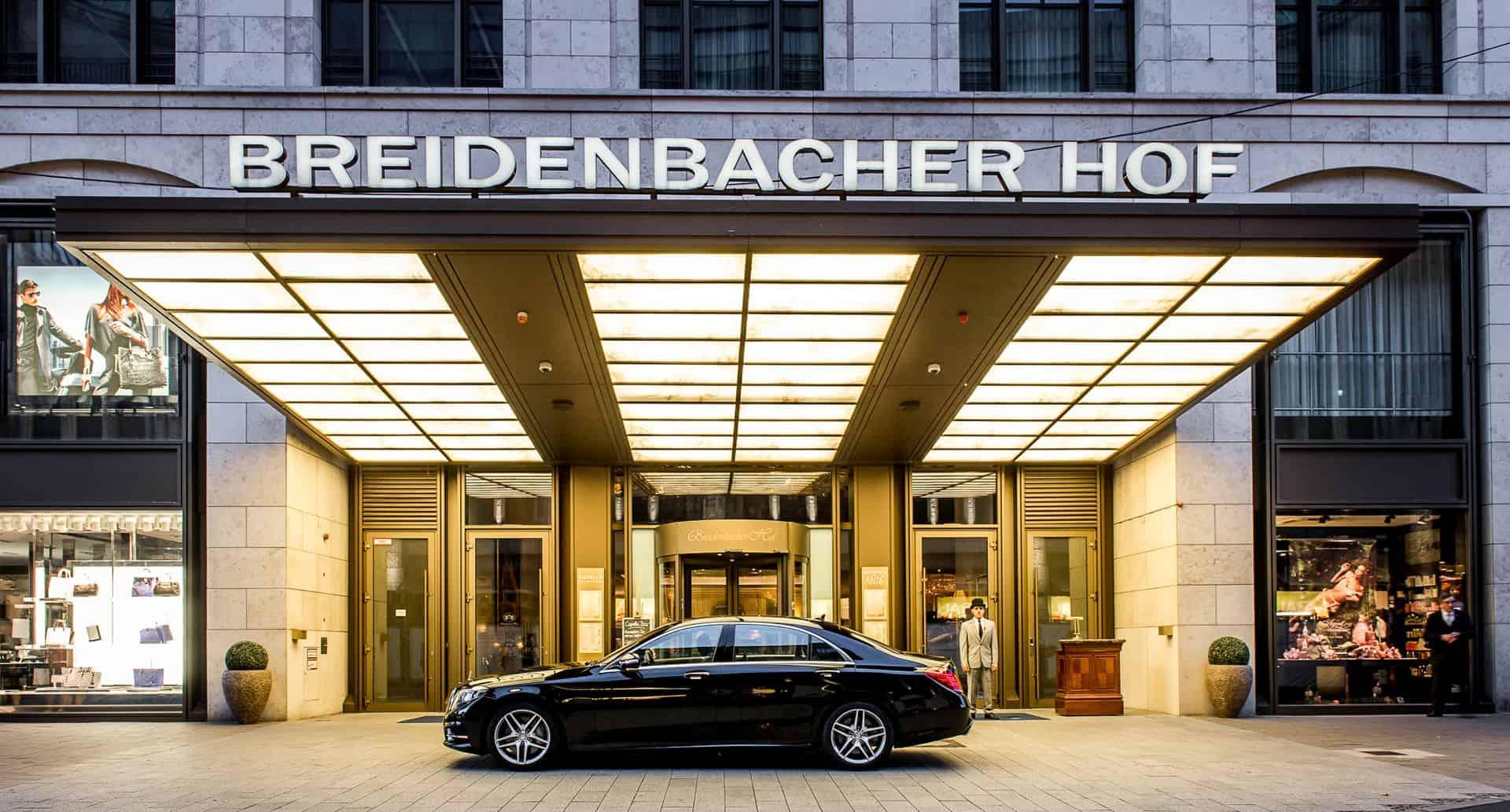 Capella Breidenbacher Hof Duesseldorf Entrance