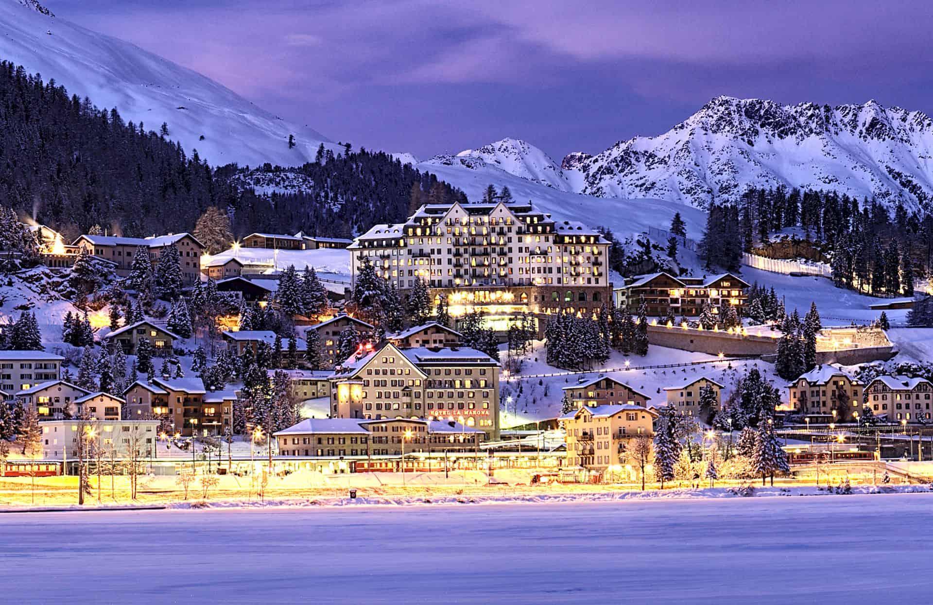Carlton hotel St Moritz Switzerland