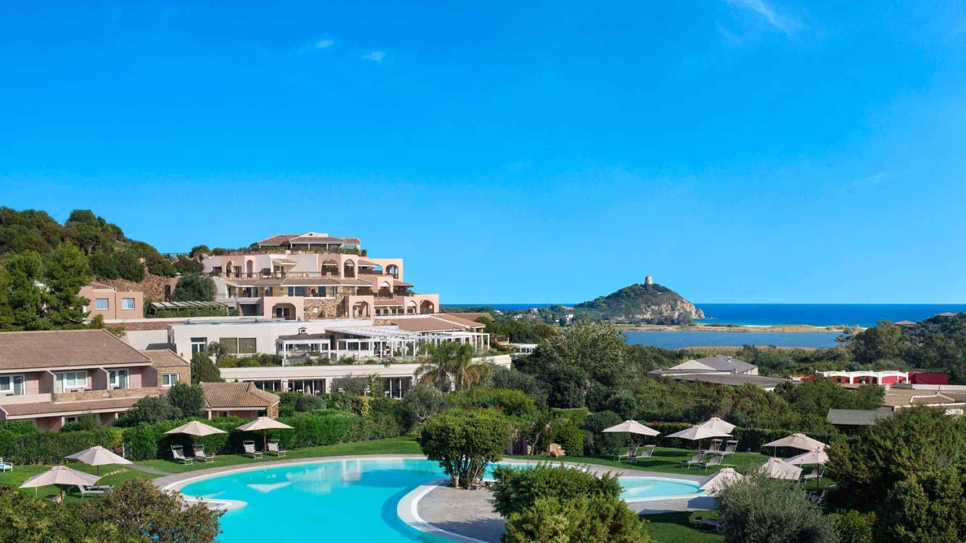 Chia Laguna Resort, Sardinia