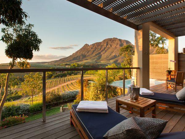 Delaire Graff Estate Luxury Vineyard Lodge