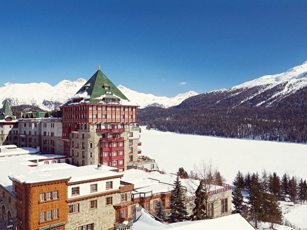 Badrutts Palace Hotel winter