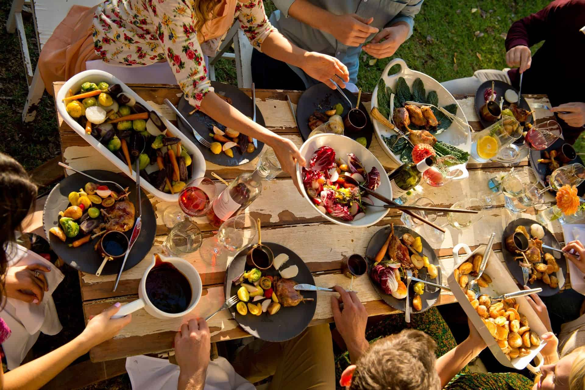 Food and Wine Picnic