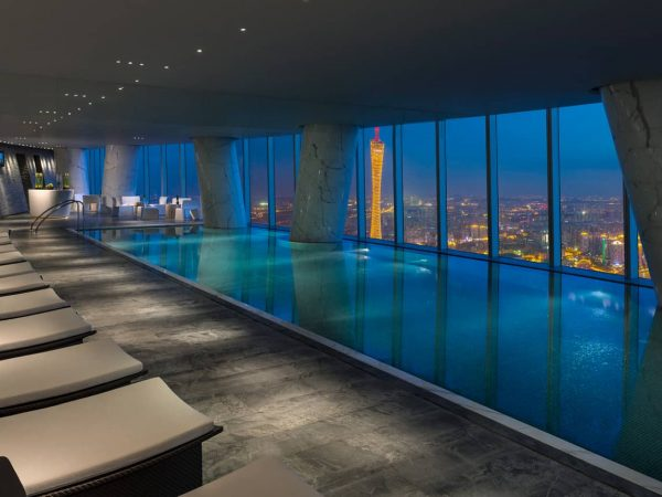 Four Seasons Guangzhou pool