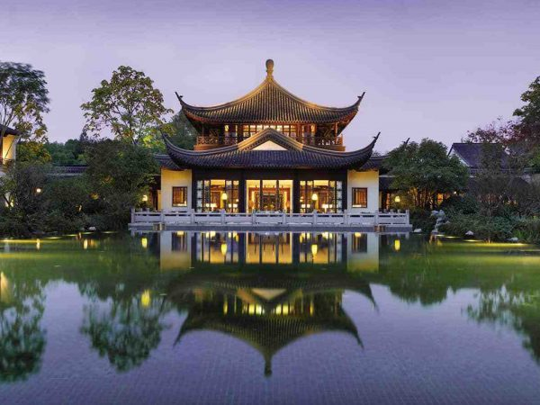 Four Seasons Hotel Hangzhou at West Lake Exterior