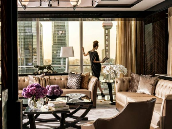 Four Seasons Hotel Shanghai at Pudong Presidential Suite