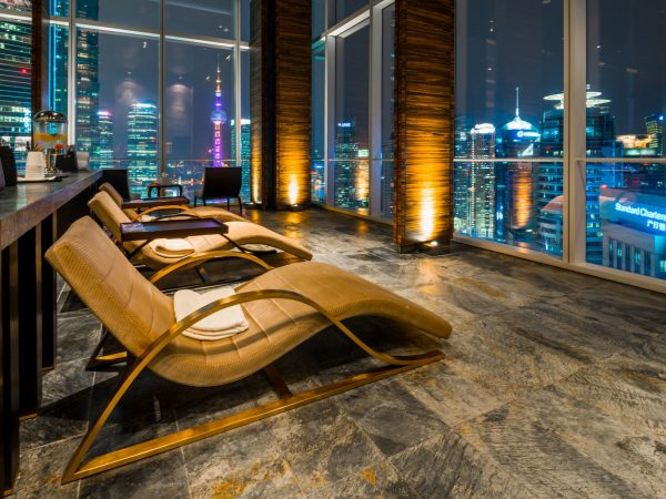 Four Seasons Hotel Shanghai at Pudong spa relaxation