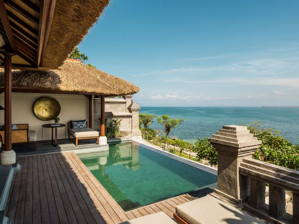 Four Seasons Resort Bali at Jimbaran Bay Lobby view
