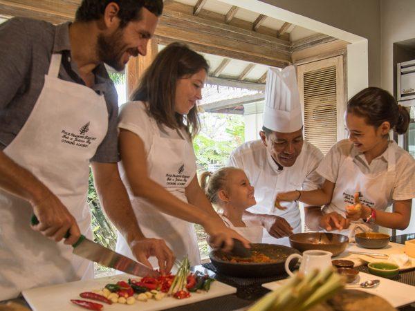 Four Seasons Resort Bali at Jimbaran Bay cooking school