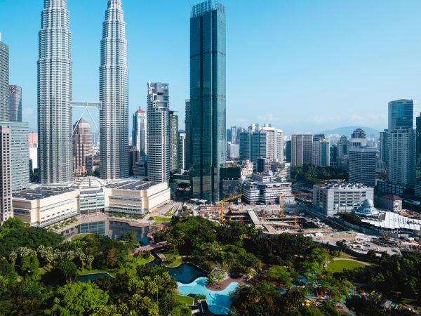 Four Seasons hotel Kuala Lumpur Exterior View