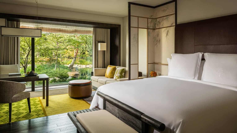 Four Seasons hotel Kyoto room