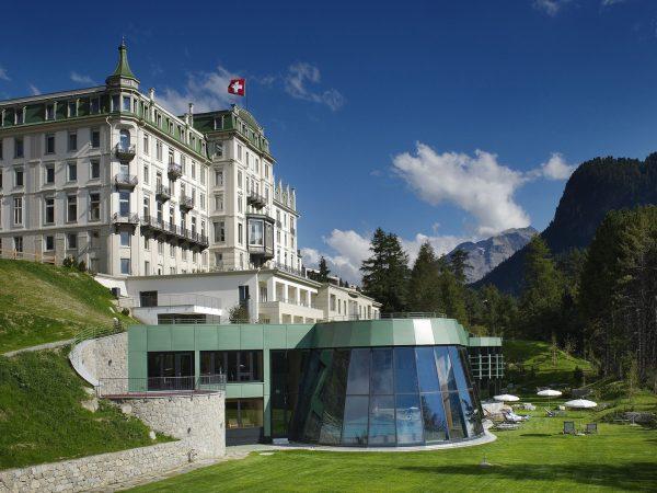 Grand Hotel Kronenhof View