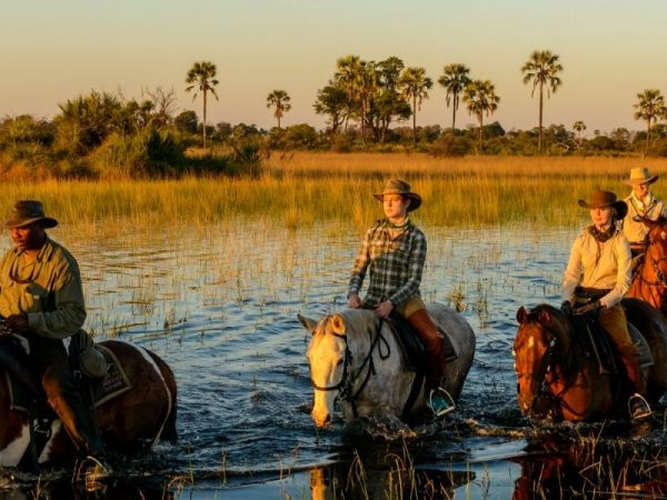 AndBeyond Sandibe Okavango Safari Lodge Horseback Safari