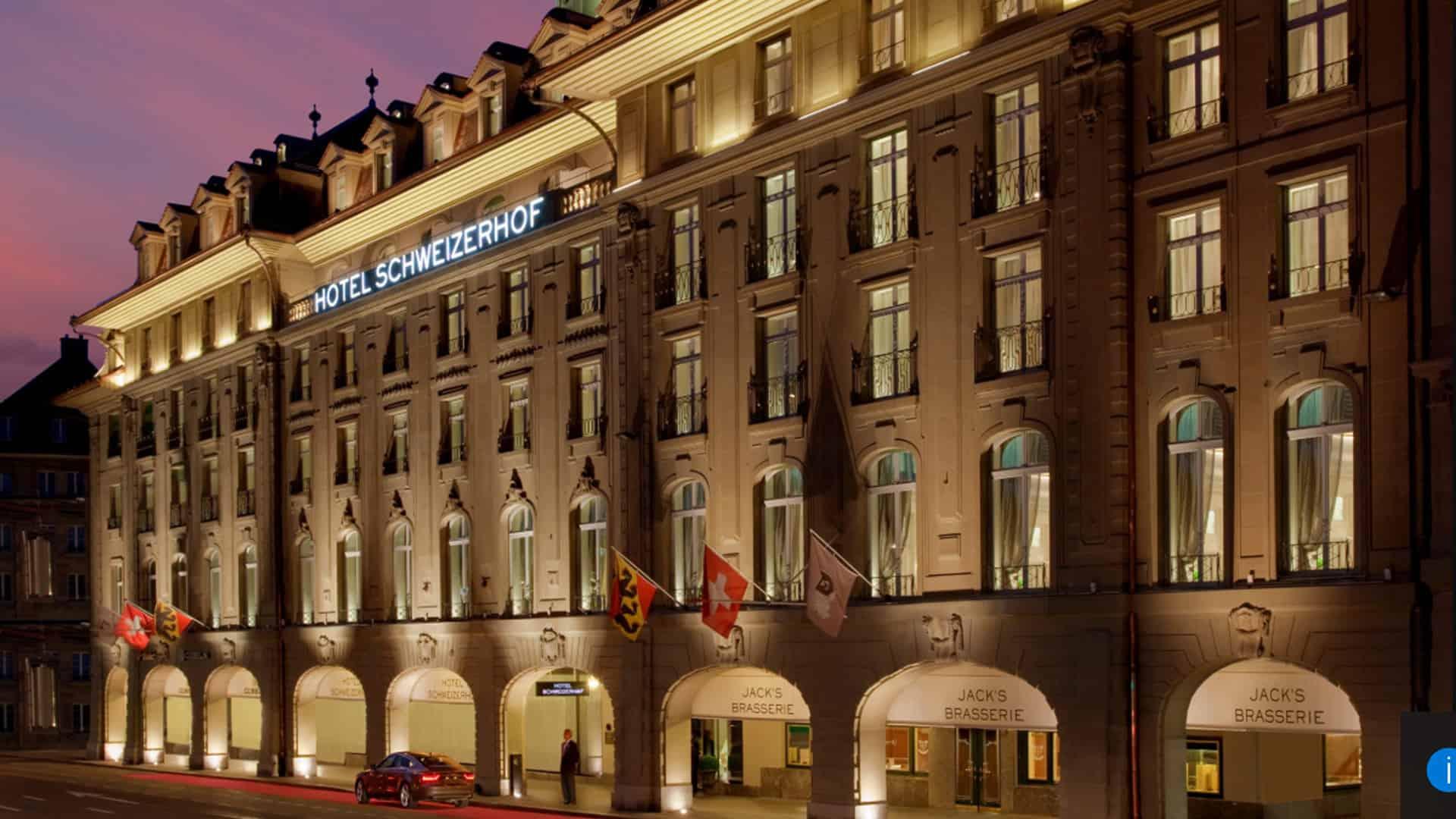 Hotel Schweizerhof Bern and The Spa