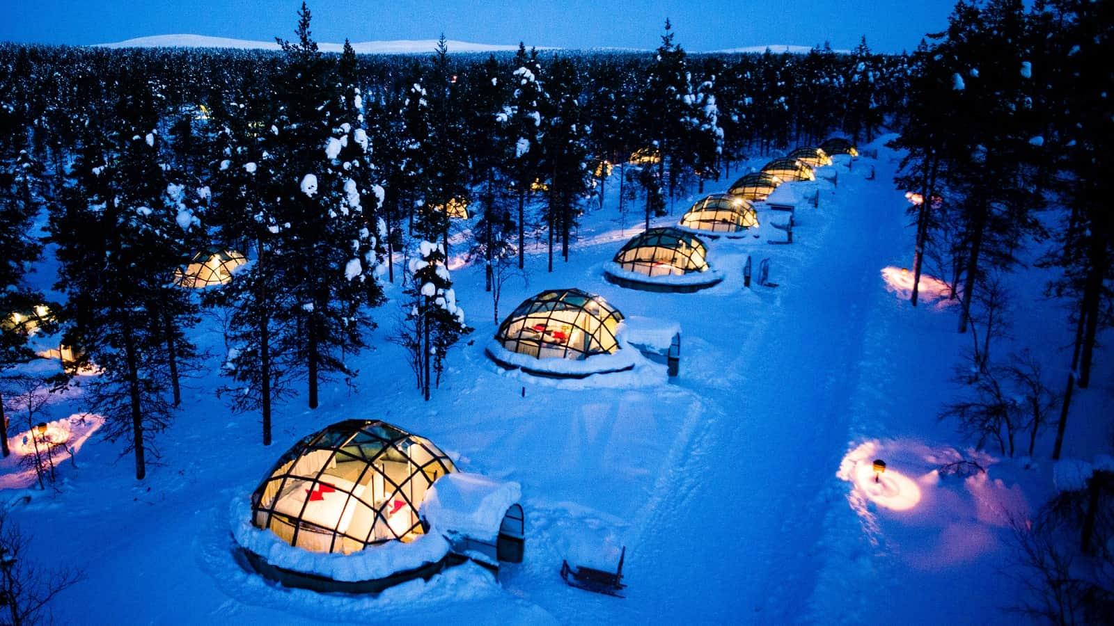 Kakslauttanen Arctic Resort Igloos