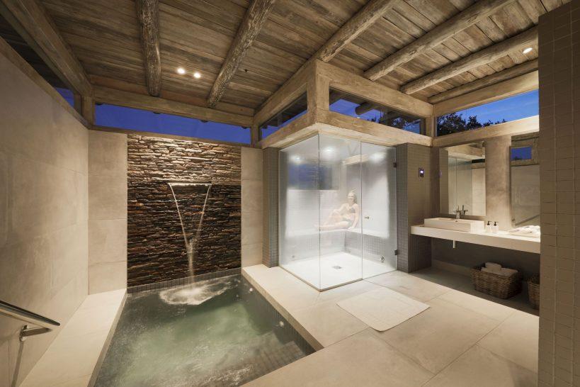 Kapama Karula Spa Steam Room and Ice Bath
