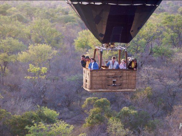 Kapama Karula hot air balloon