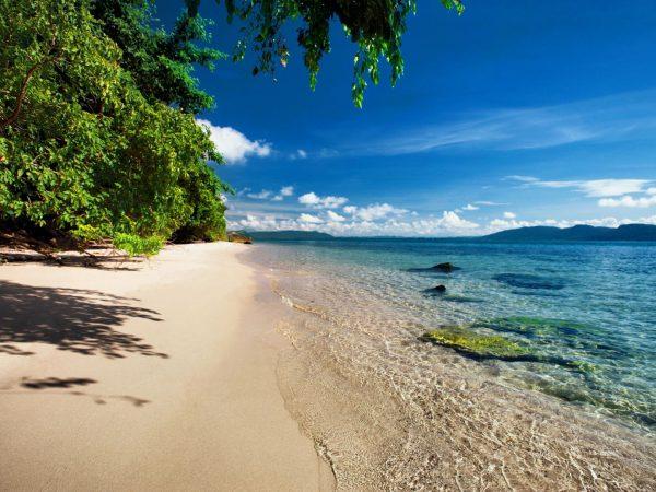 Krabey Island Beach
