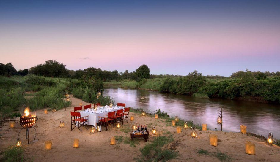 Lion Sands River Lodge Riverside Dining