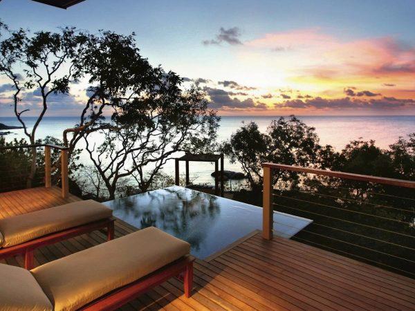Lizard Island Australia Oceanview plunge pool villa