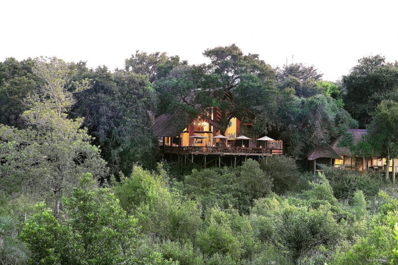 Londolozi Varty Camp Outside View
