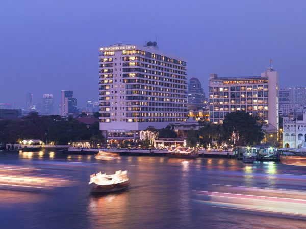 Mandarin Oriental Bangkok Exterior River