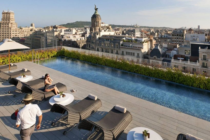 Mandarin Oriental Barcelona Rooftop Pool