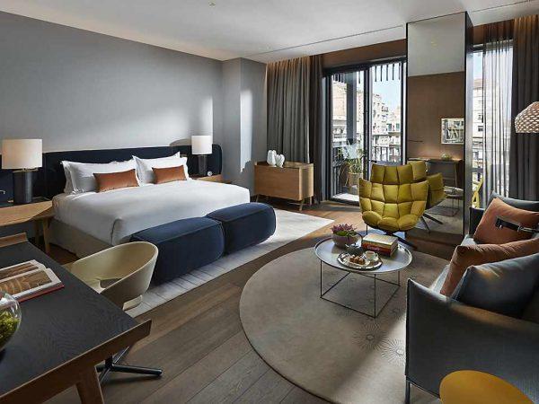 Mandarin Oriental Barcelona junior suite